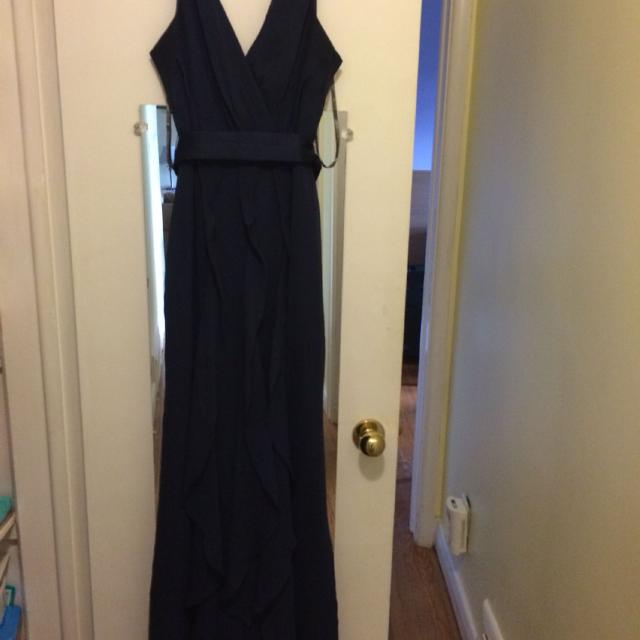 fc0fa58d0e0f Find more Price Reduced: Vera Wang V-neck Wrapped Bodice Dress With ...