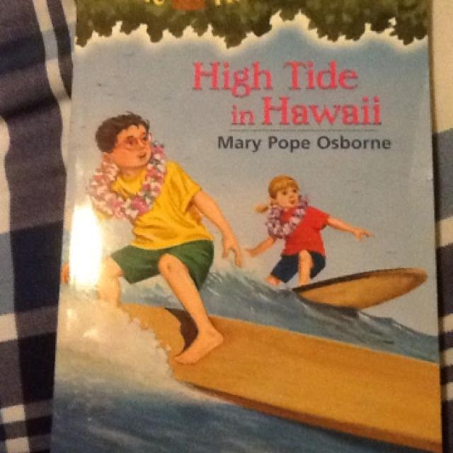 Find More Euc Magic Tree House High Tide In Hawaii Childrens