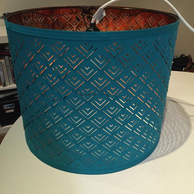 Find more ikea nymo teal lampshade for sale at up to 90 off ikea nymo teal lampshade aloadofball Image collections