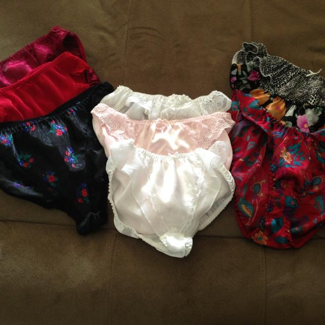 217bb9933403 Find more 9 Pairs Of Women's Satin Panties Size 6/7 $5.00 Takes L ...