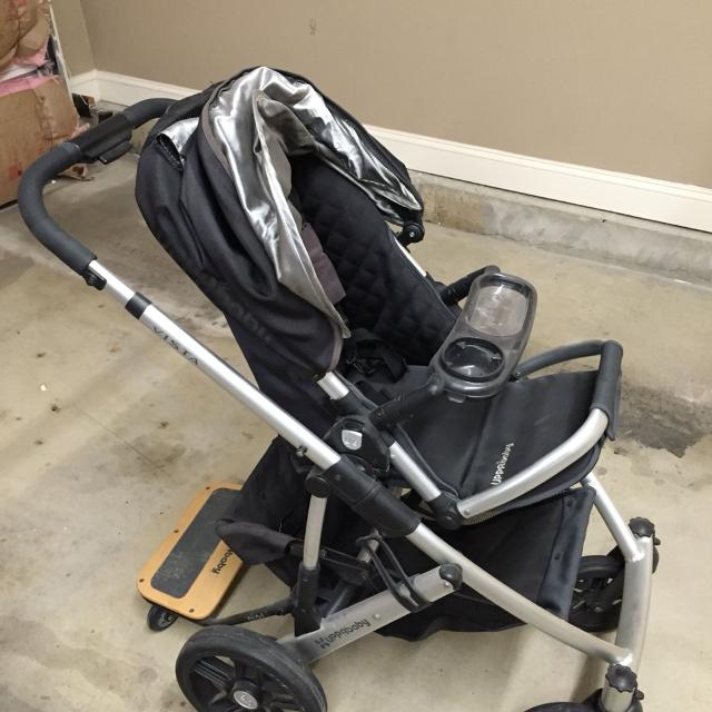 Best Uppababy Vista Stroller With Piggy Back Board And ...