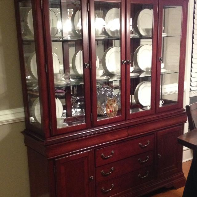 best havertys orleans china cabinet for sale in concord, north