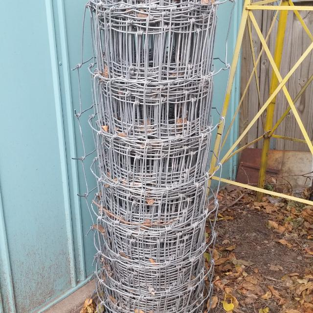 Find more Approximately 100ft X 4ft Metal Woven Fencing for sale at ...