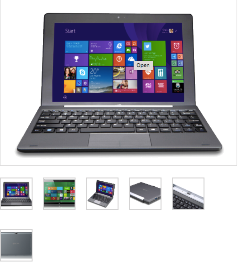 find more hexa bluesky 10 windows tablet with keyboard retail reduced for sale at. Black Bedroom Furniture Sets. Home Design Ideas