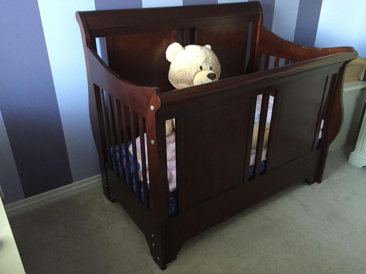 Find More Crib Dresser Shermag Chanderic Bradford Convertible Crib