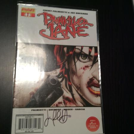 Painkiller Jane #1 - Autographed by... for sale  Canada