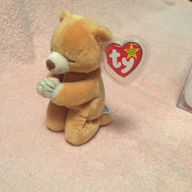 TY beanie baby praying bear. Hope. Pick up at McCalla Target Thursdays from  5 3befcf45fe8