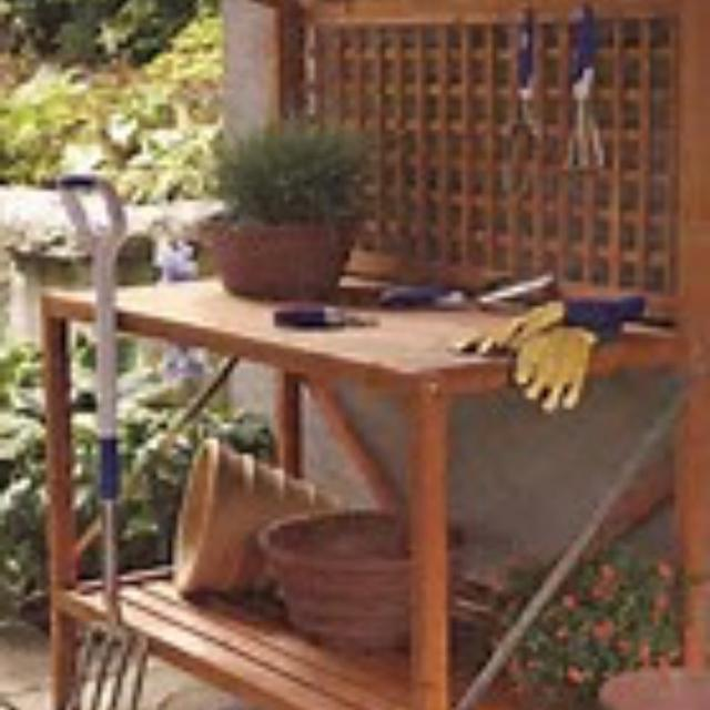 Best Smith Hawken Potting Bench For Sale In Lawrenceville Georgia