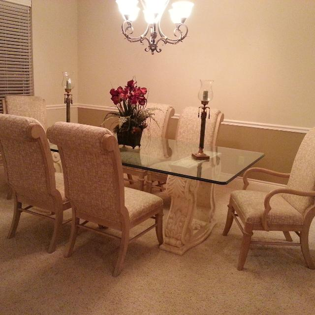 Lexington Pacific Overture Collections Dining Room Table Chairs