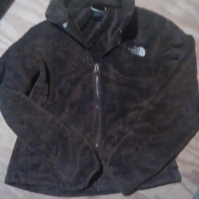 aee3b638a Brown North Face jacket