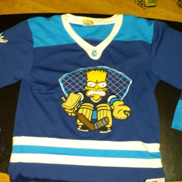 Find more Eeuc Simpsons Hockey Jersey for sale at up to 90% off 032a9ab65aa