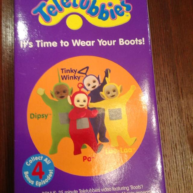 "Best Teletubbies ""it's Time To Wear Your Boots"" Vhs"