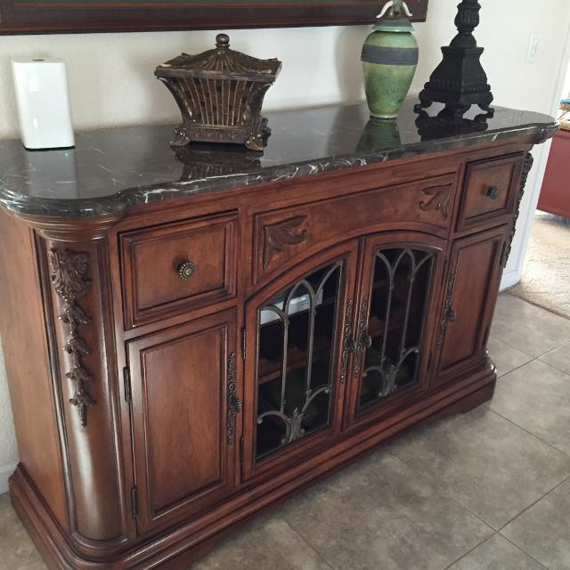 Dining Room Buffet Or Sideboard With Marble