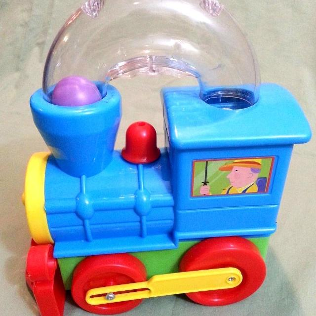 Fun Time Toys : Best push along train with ball popper fun time toys