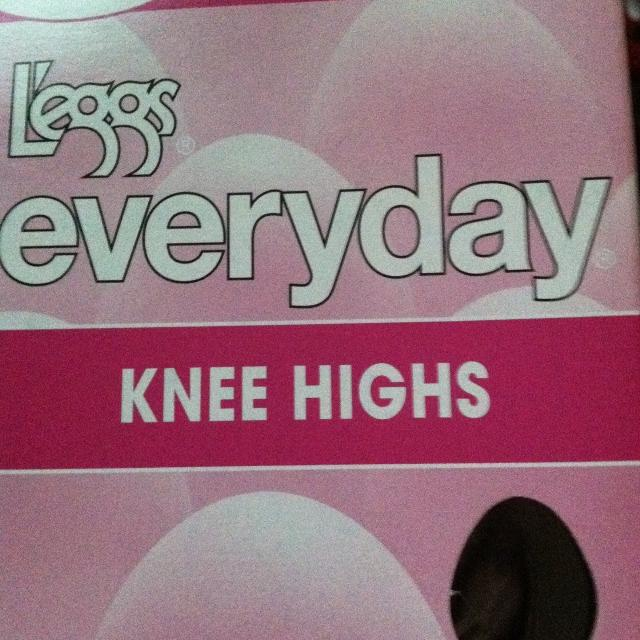 4e6b7e1dc25bcf Find more Leggs Knee High Pantyhose for sale at up to 90% off