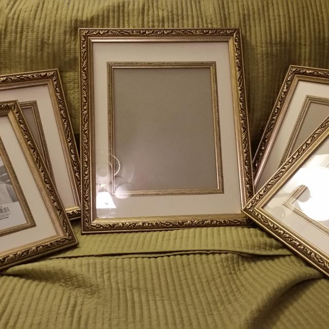 Better Homes And Gardens Frames One 11x13 Or 8x10 And Four 8x10 Or 5x7 15 Reduced 12