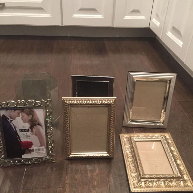 find more all 5x7 picture frames except all glass one is 4x6 as well