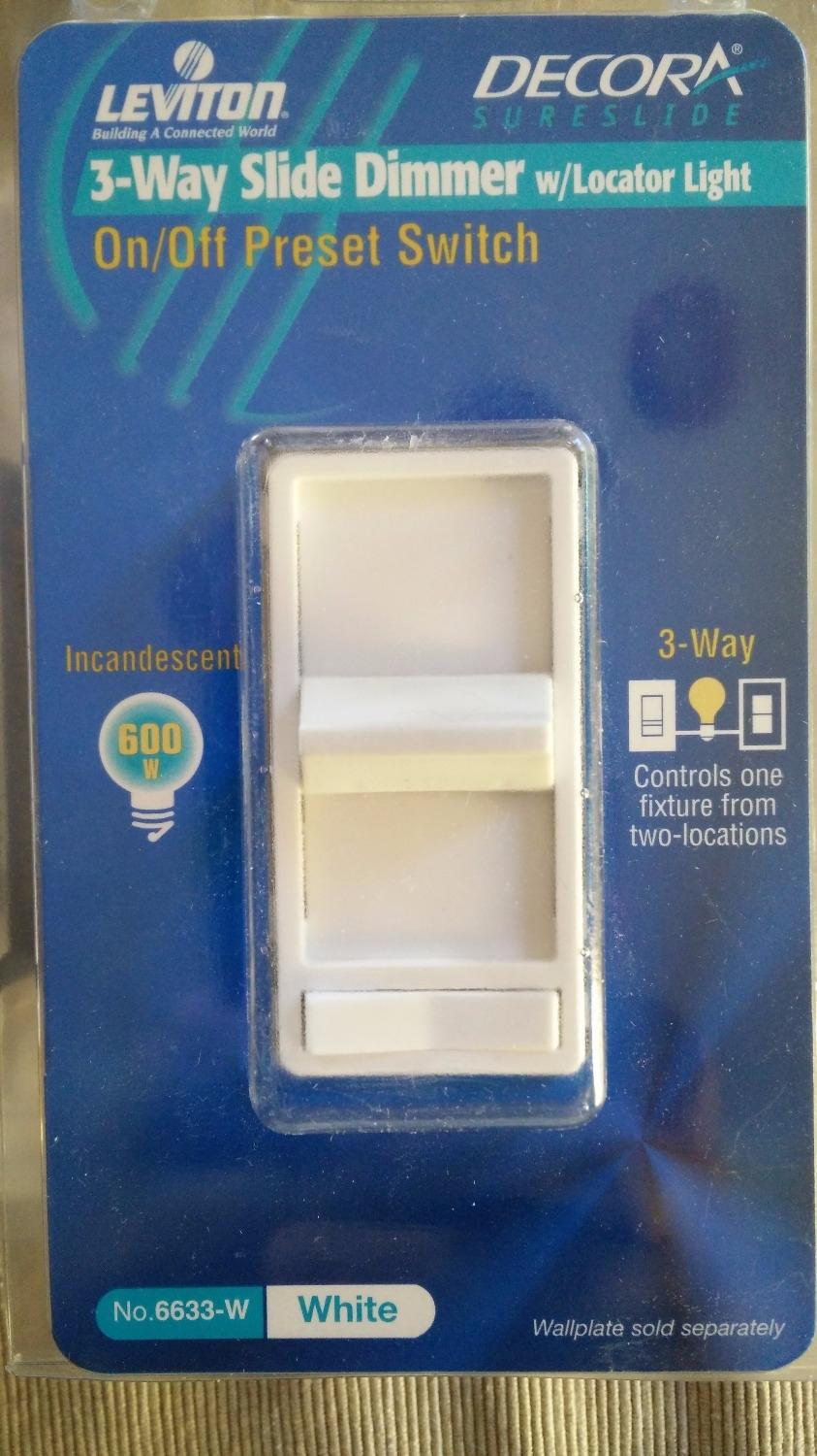 Find More 4 X Leviton Decora On Off Dimmer 3 Way White For Sale At Switch Make Up To 90