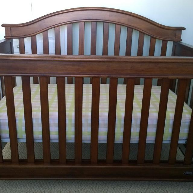Find more Europa Baby Palisades Crib, Dresser And Matress for sale ...