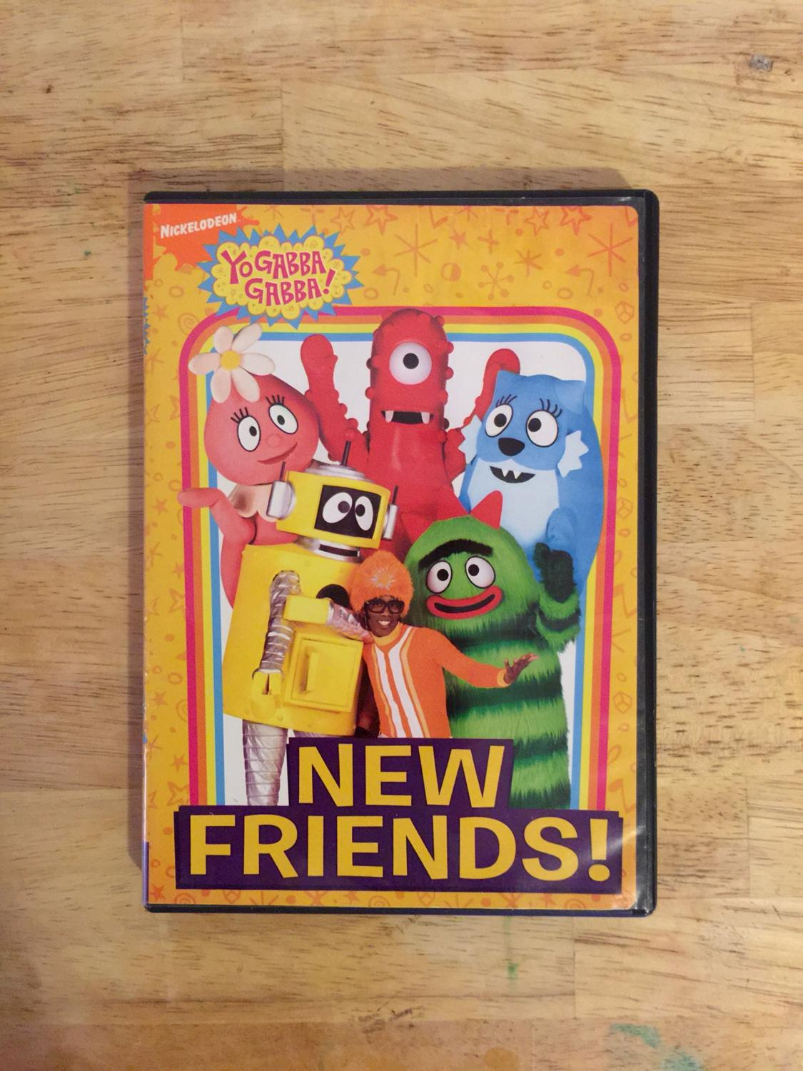 Find More Yo Gabba Gabba New Friends Dvd For Sale At Up To 90 Off