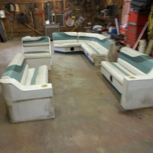 Find More Whole Set Used 24ft Pontoon Seats For Sale At Up