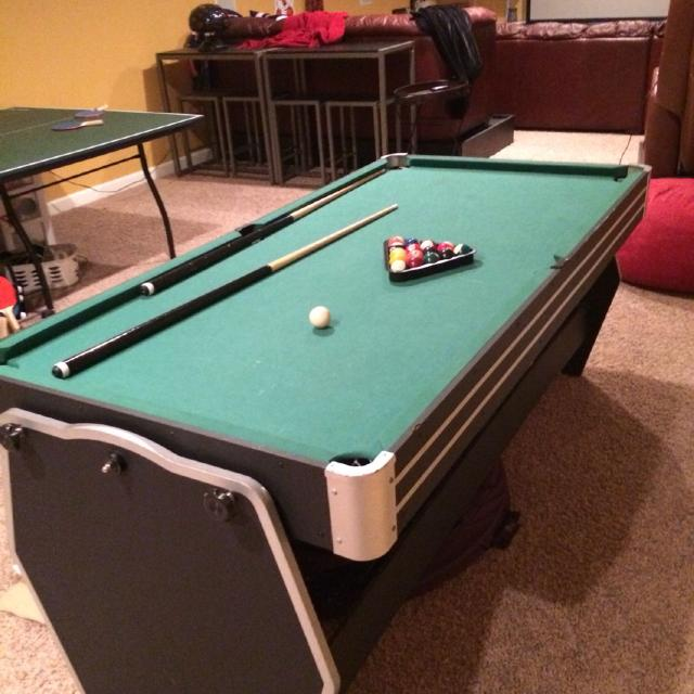 Find More X Pool Table Air Hockeyping Pong Must Pick Up In - Mobile pool table