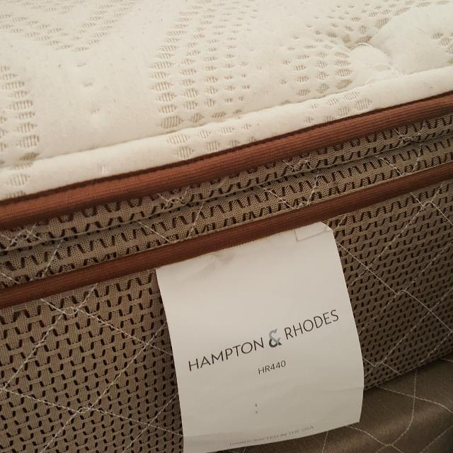 Mattress Sales In Las Vegas: Best Hampton And Rhodes Hr440 Queen Pillow Top Mattress