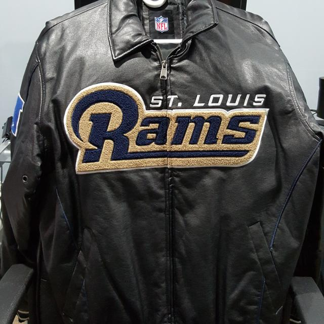 competitive price 612ef aaa93 Authentic NFL St. Louis Ram Jacket size L