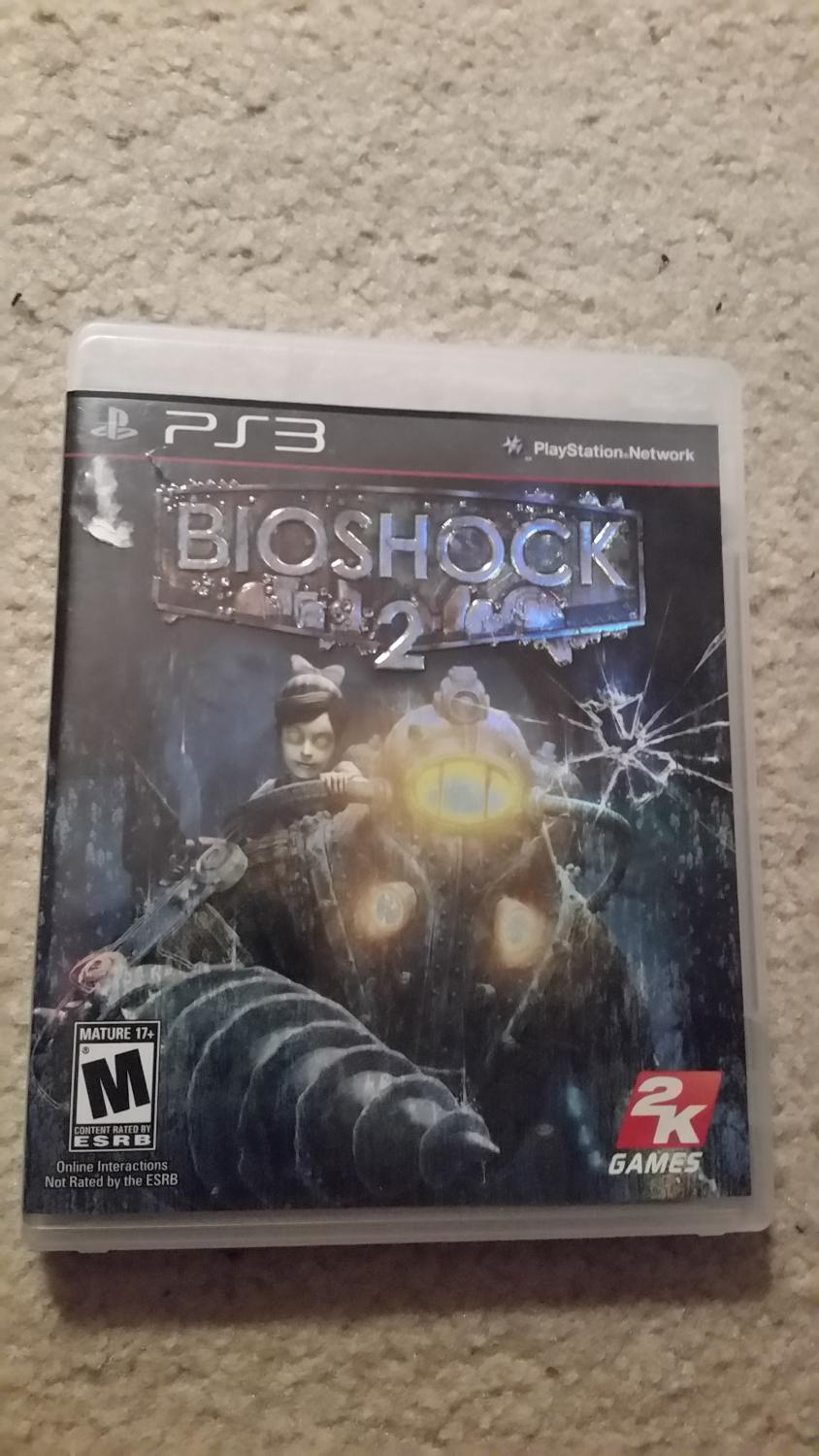 Bioshock 2 Ps3 game