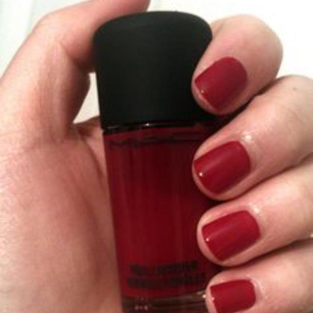 Best Mac Nail Lacquer Polish Shade Rougemarie For In