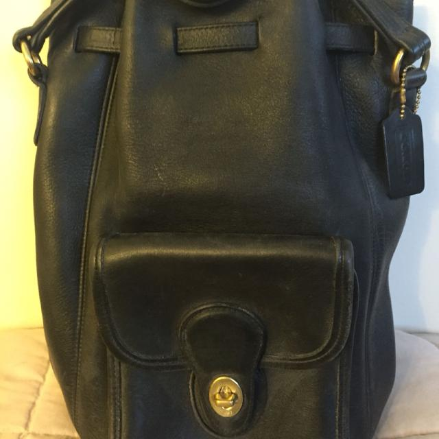 537a9a492998 Find more Vintage Coach Leather Backpack Purse for sale at up to 90% off