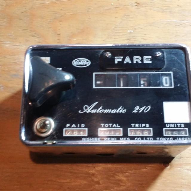 Nishibe automatic 210 vintage taxi meter