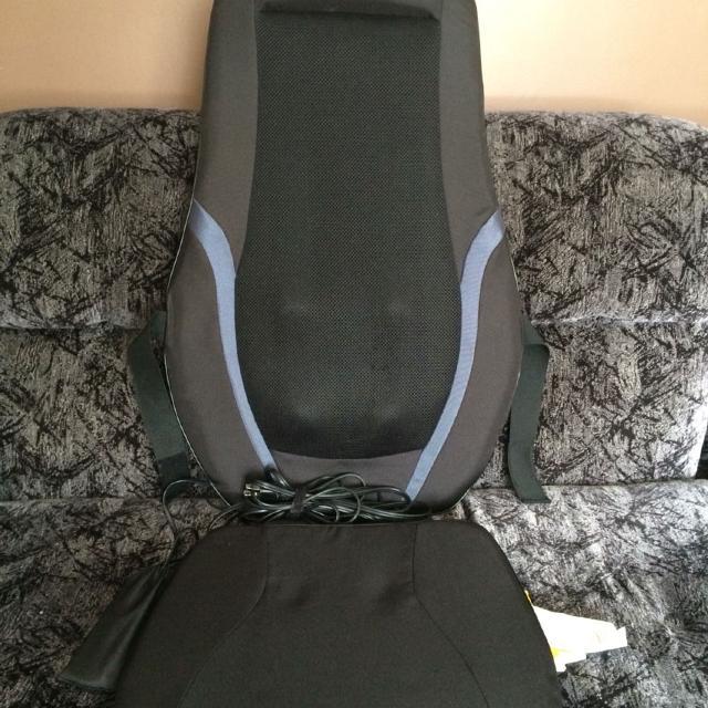Find More The Sharper Image Shiatsu Massage Cushion Has A Remote
