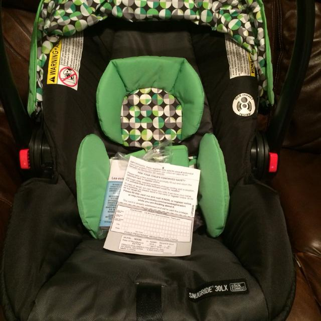 Find more Graco Snugride Click Connect 30lx Infant Car Seat - New ...