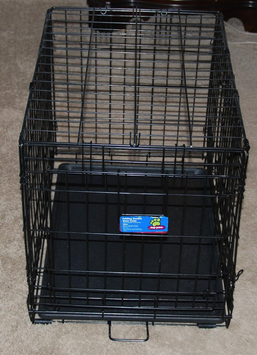 Find More Small Top Paw Double Door Dog Crate For Sale At Up To 90 Off