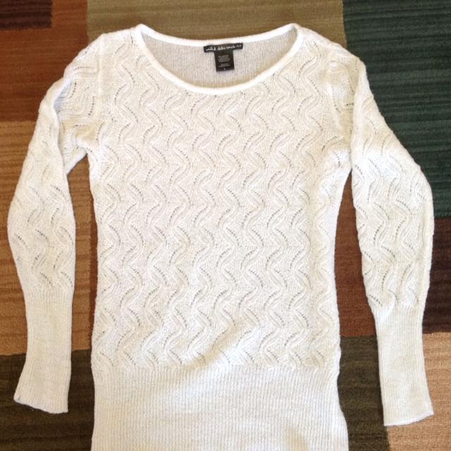 Find More Euc United States Sweaters White Sweater Size Ljuniors