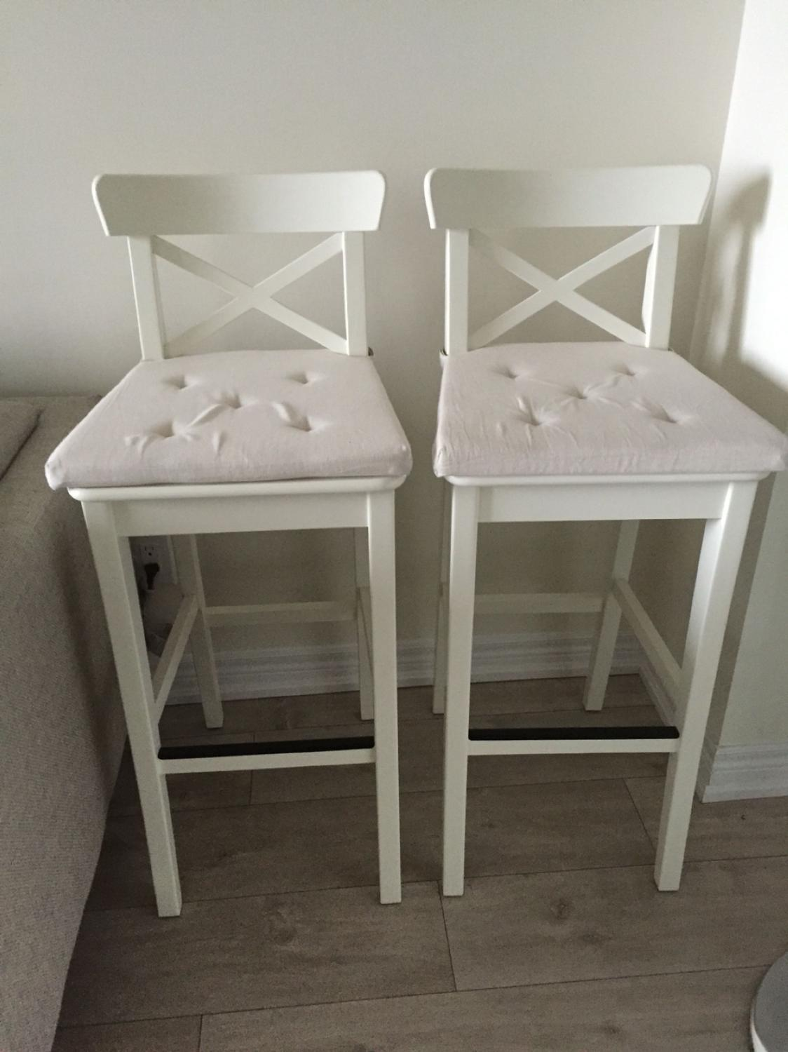 Best Ikea Ingolf Bar Stools For Sale. Barely Used And Comes With ...