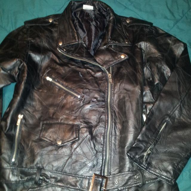 Best Black Leather Jacket New Never Worn Brandflight Path Size