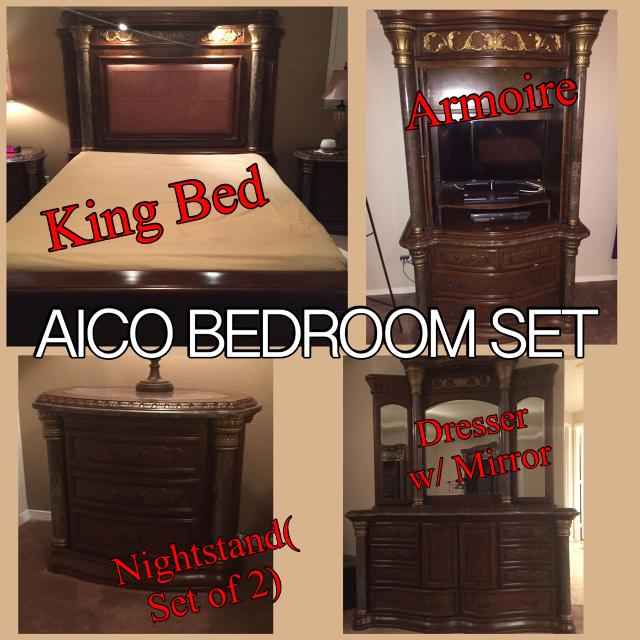 aico torino bedroom set.  AICO Torino King Bedroom Set Pieces Also Available Individually Find More Aico Also Available