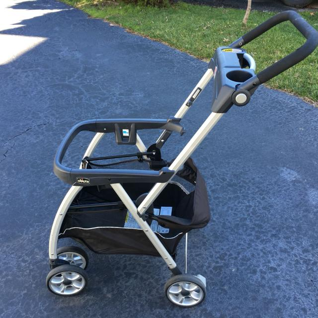 Find more Chicco Key Fit Caddy Stroller Frame. Great Used ...