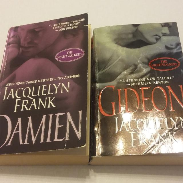 Find More Bundle Damien And Gideon The Nightwalkers By Jacqueline