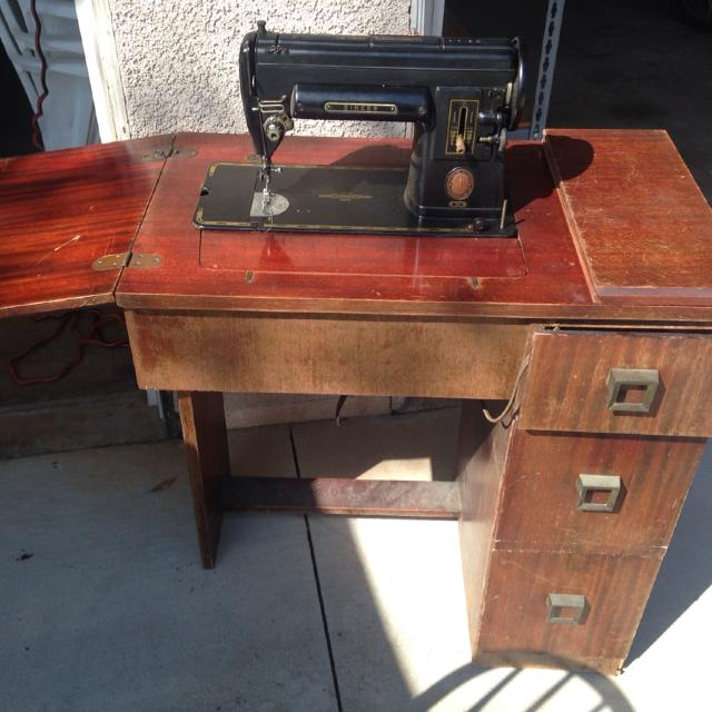 Vintage Singer 301 Sewing Machine in Cabinet - Best Vintage Singer 301 Sewing Machine In Cabinet For Sale In Corona