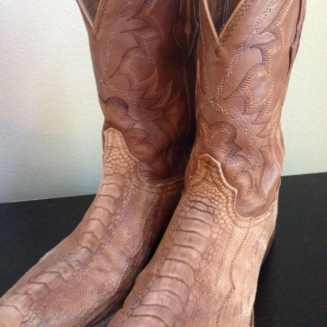 def2bfd3f95 Resistol Ostrich boots - size 11