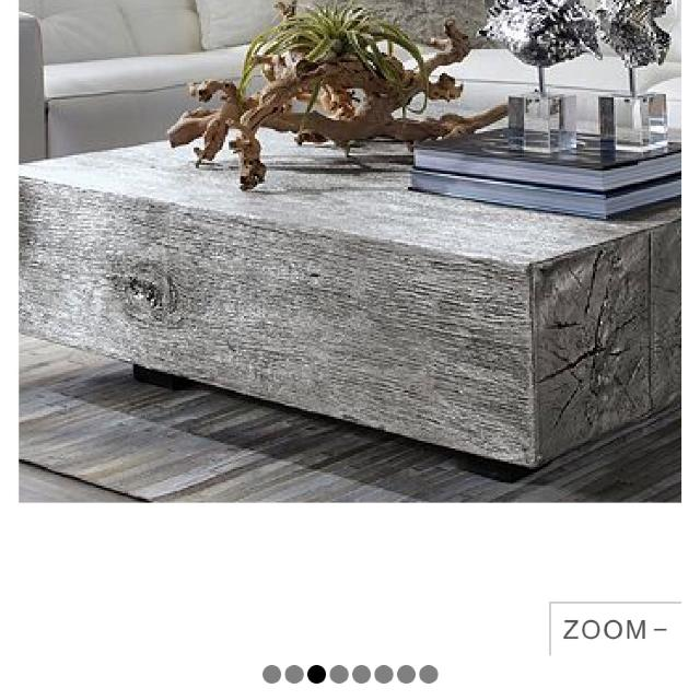 Z Gallerie Timber Coffee Table Retails For 899