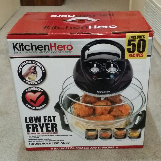 Find More Kitchen Hero Turbo Broiler. All In One Low Fat
