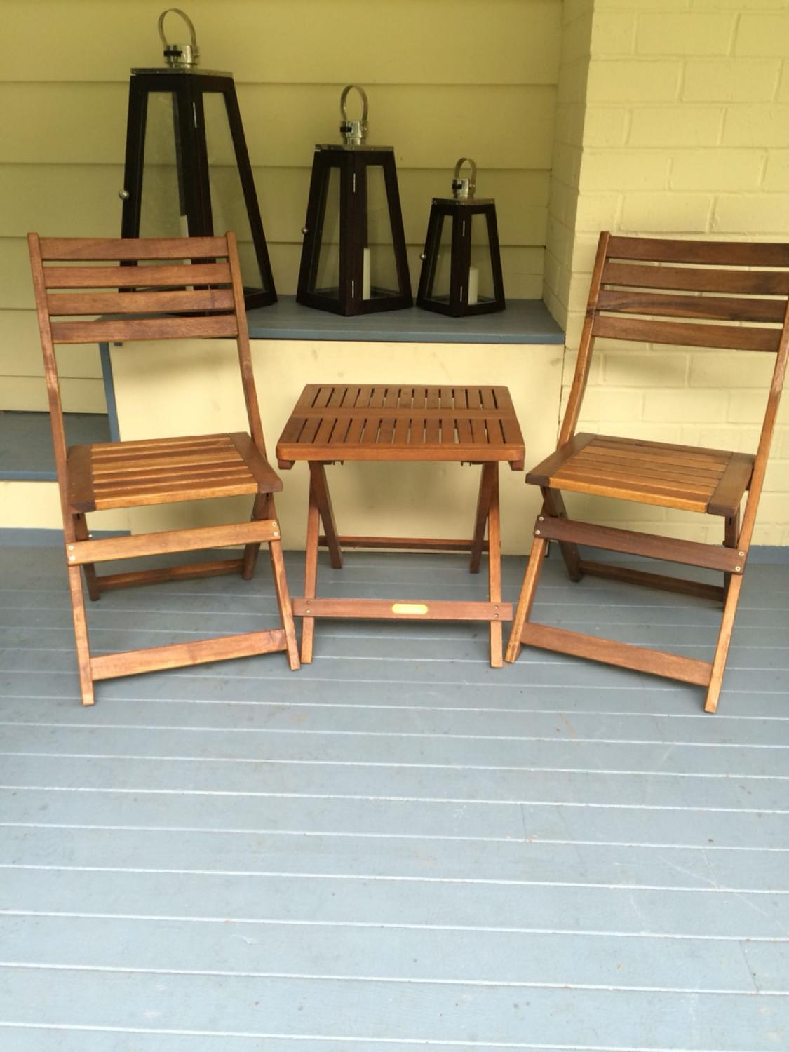 Find More Teak Patio Set Beaufort 10 By Scandinavian Design Brass Fittings Solid Table Measures 19 3 4 X19 3 4 X 20 L Height P U Tsawwassen For Sale At Up To 90 Off