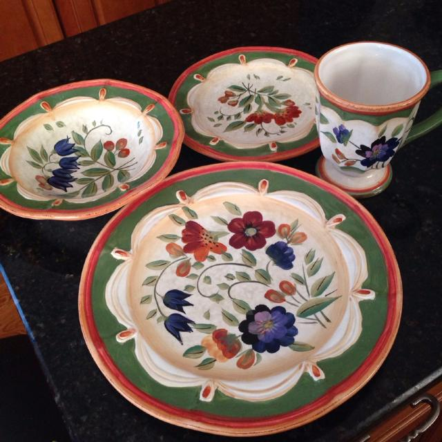 Find more Final Reduction. 33 Pieces!! Everyday Dishes Wildflower By ...
