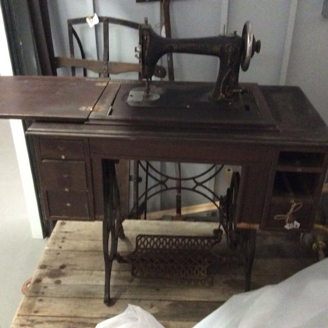Find More Antique 40 National Brand Sewing Machine And Cabinet Beauteous National Brand Sewing Machine