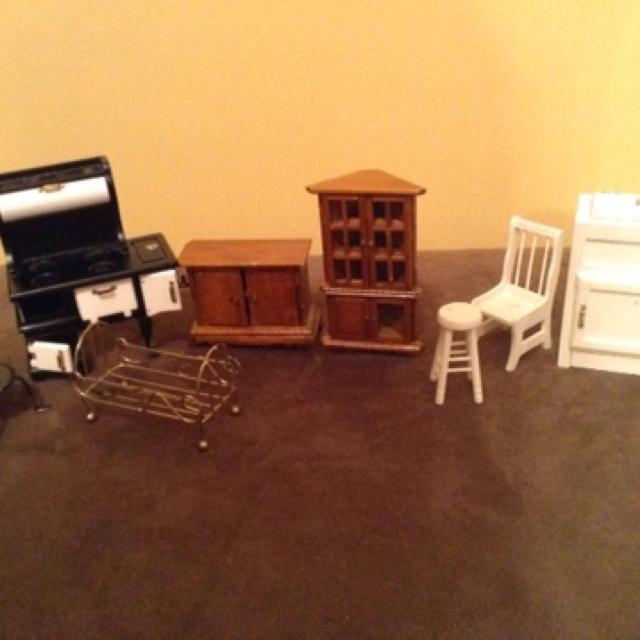 Find More Vintage Wooden Dollhouse Furniture Pieces For Sale At Up To 90 Off