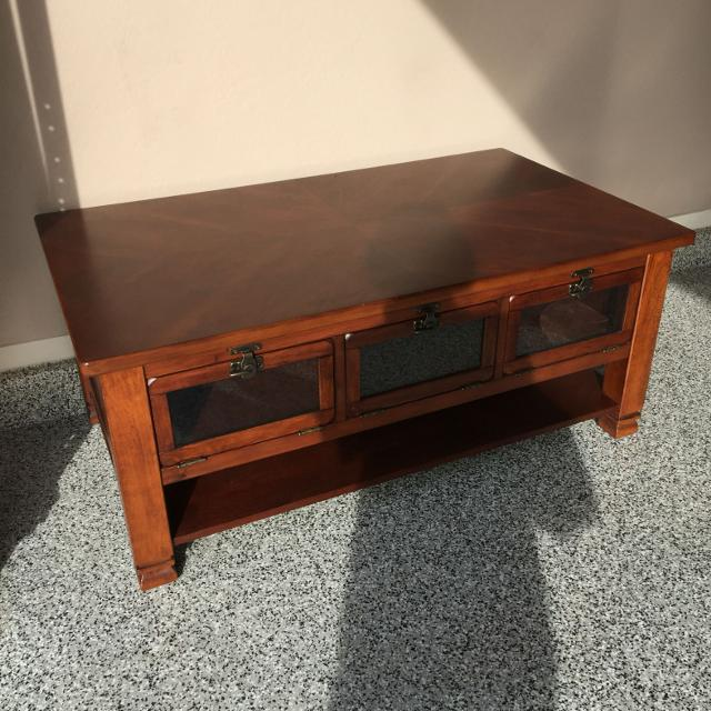 Find More Gorgeous Solid Wood Coffee Table 48 X 28 20 Inches